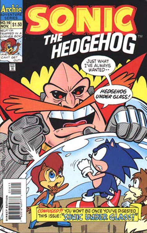 sonic hq the archie sonic comics archives