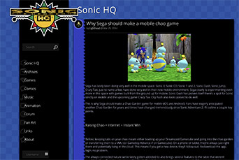 Sonic HQ Version 6