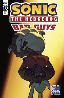 Sonic The Hedgehog: Bad Guys #1 cover