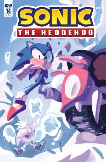 Sonic The Hedgehog #14 cover