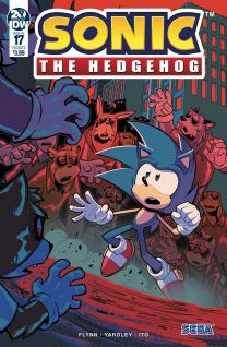 Sonic The Hedgehog #17 cover