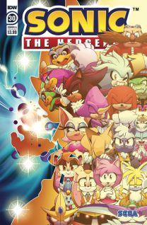 Sonic The Hedgehog #30 cover