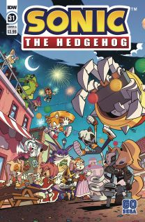 Sonic The Hedgehog #31 cover