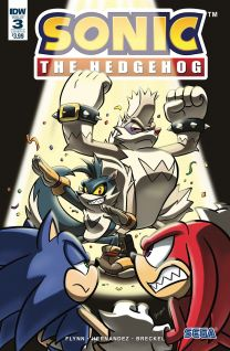 Sonic The Hedgehog #3 cover