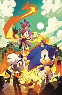 Sonic The Hedgehog #4 cover