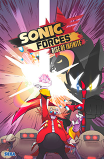 Sonic Forces - Rise of Infinite cover