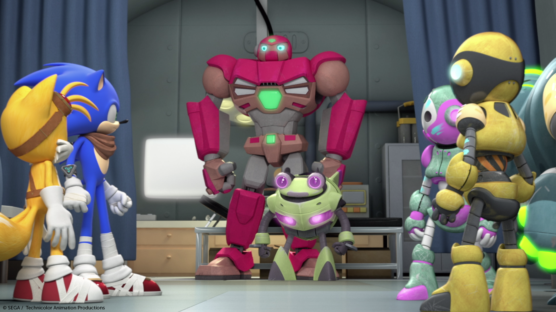 Sonic Boom Season 2 S Quot Robots From The Sky Quot Debuts This