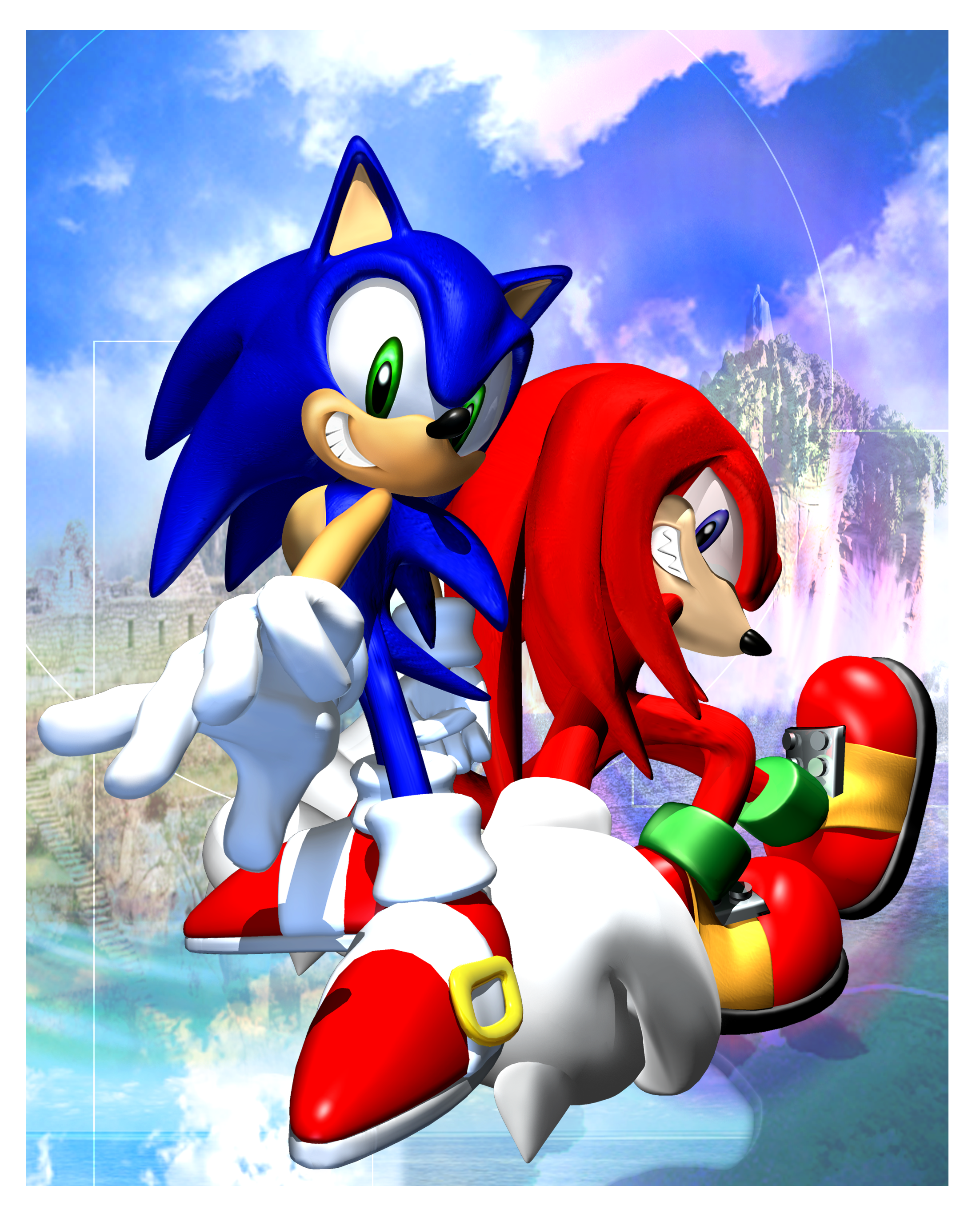 It is an image of Refreshing Images of Sonic