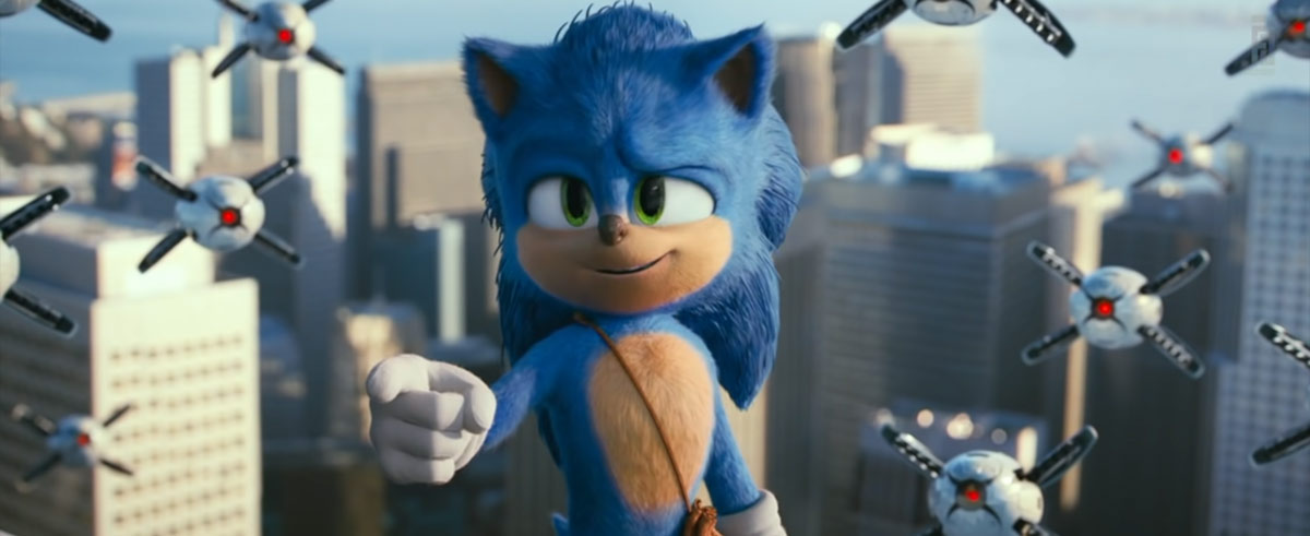 Sonic The Hedgehog Movie Review Sonic Hq